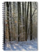Forest Snowscape Spiral Notebook