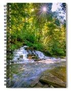 Forest Waterfall Spiral Notebook