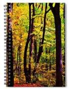 Forest Waves Spiral Notebook