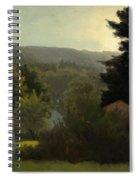 Forested Hills Spiral Notebook