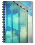 Forever Blue Spiral Notebook