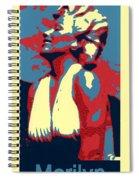 Forever Marilyn Poster Spiral Notebook