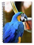 Forewarned Spiral Notebook