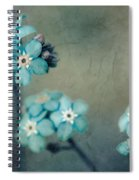 Forget Me Not 01 - S22dt06 Spiral Notebook