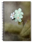 Forget Me Not 03 - S07bt07 Spiral Notebook