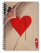You Give Love A Bad Name Spiral Notebook