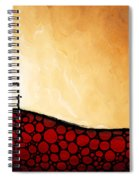 Forgiven - Christian Art By Sharon Cummings Spiral Notebook