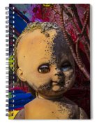 Forgotten Baby Doll Spiral Notebook