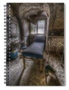 Forgotten Bed Spiral Notebook