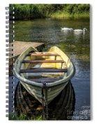 Forgotten Boat Spiral Notebook