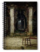 Forgotten Courtyard Spiral Notebook