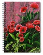 Forgotten Garden Spiral Notebook
