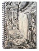 Forgotten Halls Spiral Notebook