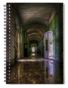 Forgotten Reflections Spiral Notebook