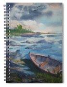 Forgotten Rowboat Spiral Notebook