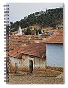 forgotten village Totora Spiral Notebook