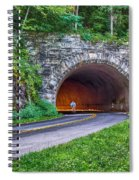 Fork Mountain Tunnel Spiral Notebook