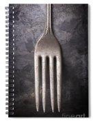 Fork Still Life Spiral Notebook