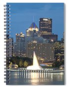 Forks Of The Ohio Spiral Notebook