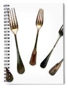 Forks Spiral Notebook