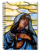Forlorn Mary Spiral Notebook