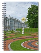Formal Garden In Front Of The Palace Spiral Notebook