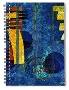 Formes - 0101rgnlbl Spiral Notebook