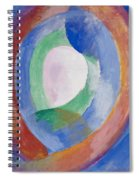Formes Circulaires Spiral Notebook
