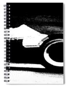 Formula 1 Racer In Action Spiral Notebook
