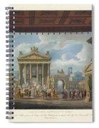 Foro Di Pompei Festivamente Adorno Spiral Notebook