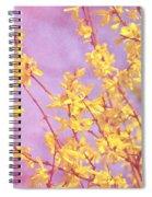 Forsythia Spiral Notebook