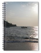 Fort Aguada Beach Spiral Notebook