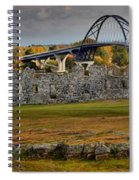 Fort Crown Point At Lake Champlain Spiral Notebook