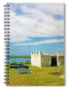 Fort Frederica Spiral Notebook