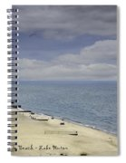 Fort Gratiot Light House Beach Spiral Notebook