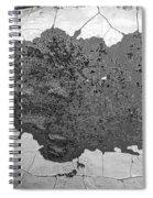 Fort Gratiot Light House Wall Texture Spiral Notebook
