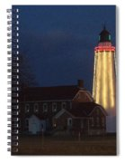Fort Gratiot Lighthouse And Buildings Spiral Notebook