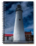 Fort Gratiot Lighthouse From The Water Side Spiral Notebook