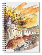 Fort In Valenca Portugal 02 Spiral Notebook
