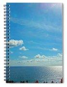 Fort Lauderdale Ocean View Spiral Notebook