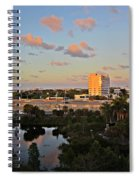 Fort Lauderdale Scene Spiral Notebook