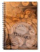 Fort Macon Ration Barrels Spiral Notebook