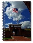 Fort Mchenry Main Gate Spiral Notebook