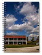 Fort Mchenry Parade Ground Barracks Spiral Notebook