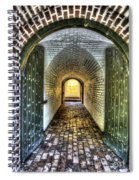 Fort Moultrie Door Spiral Notebook