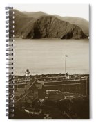 Fort Point And The Golden Gate San Francisco Circa 1890 Spiral Notebook