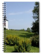 Fort Point Light Maine Spiral Notebook