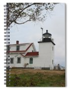 Fort Point Lighthouse 9239 Spiral Notebook