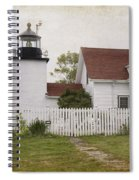 Fort Point Lighthouse Spiral Notebook
