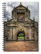 Fort Santiago Spiral Notebook